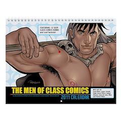 The Men of Class Comics 2011 Calendar