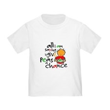 Cute Give peace a chance T