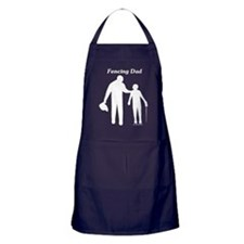 Fencing Dad Apron (dark)
