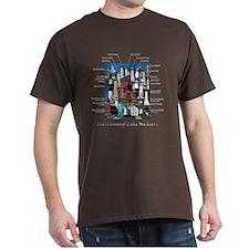 Lighthouses of Lake Michigan T-Shirt