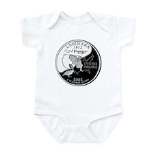 Louisiana Quarter Infant Bodysuit