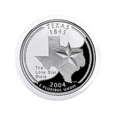 """Texas Quarter 3.5"""" Button"""