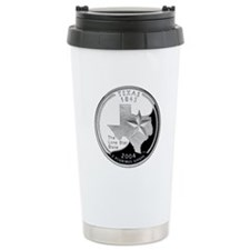 Texas Quarter Travel Mug