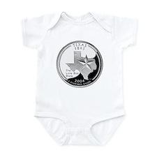 Texas Quarter Infant Bodysuit