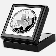 Texas Quarter Keepsake Box