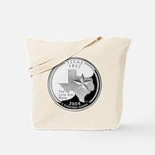 Texas Quarter Tote Bag