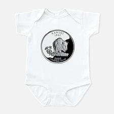 Kansas Quarter Infant Bodysuit