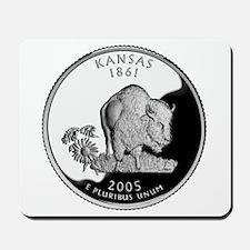 Kansas Quarter Mousepad
