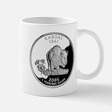 Kansas Quarter Mug