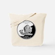 Kansas Quarter Tote Bag