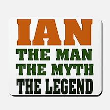 Ian the Legend Mousepad