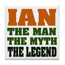 Ian the Legend Tile Coaster