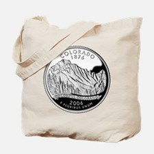 Colorado Quarter Tote Bag