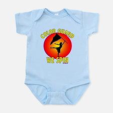 Color Guard -- We Spin Infant Bodysuit