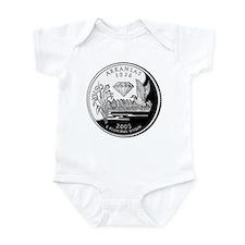 Arkansas Quarter Infant Bodysuit