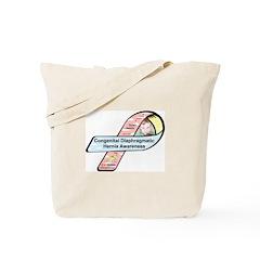Dylan Jasmin CDH Awareness Ribbon Tote Bag