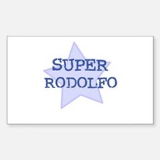 Super Rodolfo Rectangle Decal