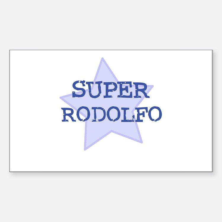 Super Rodolfo Rectangle Decal
