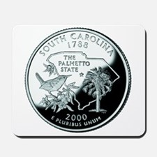 South Carolina Quarter Mousepad