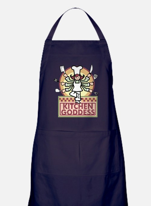 Cute Food drink Apron (dark)
