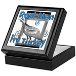 Real Men Keepsake Box