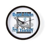 Real Men Wall Clock