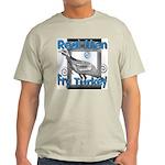 Real Men Ash Grey T-Shirt