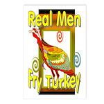 Real Men Postcards (Package of 8)