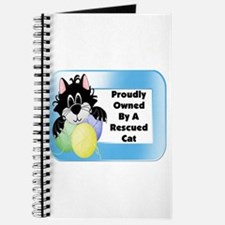 Owned By Rescue Cat Journal