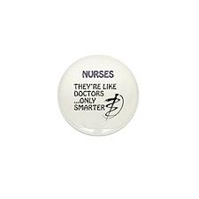 Funny Nurse Mini Button (100 pack)