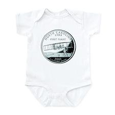 North Carolina Quarter Infant Bodysuit