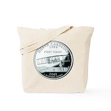 North Carolina Quarter Tote Bag