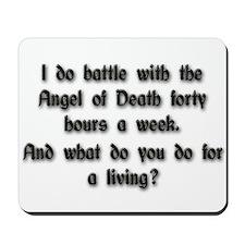 Angel of Death Mousepad