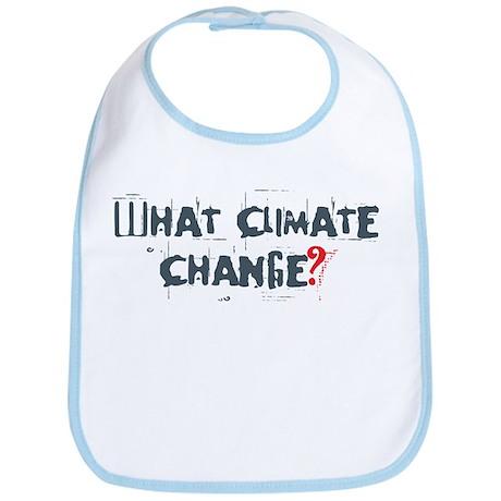 What Climate Change Bib