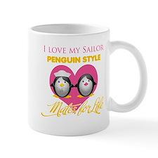 I Love My Sailor Penguin Styl Mug