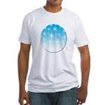 Snowfall Fitted T-Shirt
