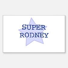 Super Rodney Rectangle Decal