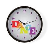 Dance Wall Clocks
