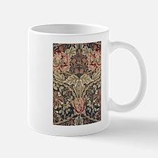 William Morris Honeysuckle Vintage Pattern Mugs