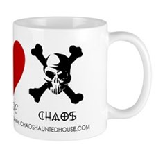 Peace Love Chaos Mug