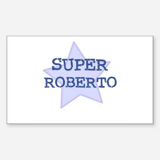 Super Roberto Rectangle Decal