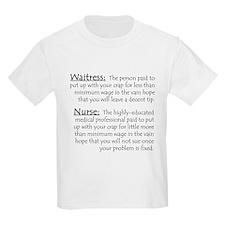 Waitress/Nurse Kids T-Shirt