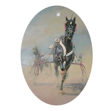 HARNESS Oval Ornament