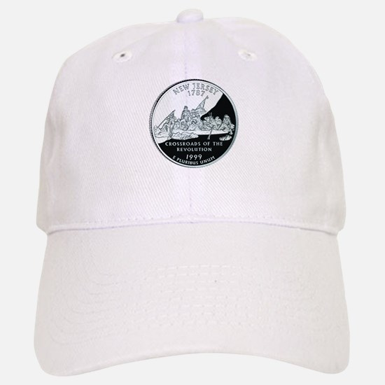New Jersey Quarter Baseball Baseball Cap