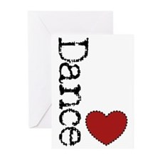 Dance Heart Greeting Cards (Pk of 20)