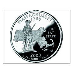 Massachusetts Quarter Posters