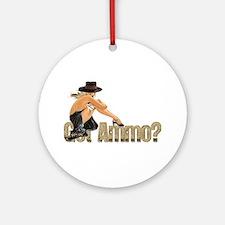 Got Ammo Sexy Ornament (Round)