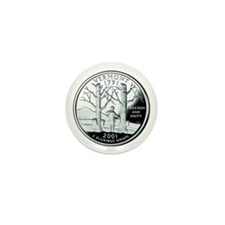 Vermont Quarter Mini Button