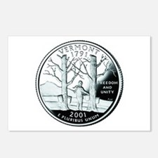 Vermont Quarter Postcards (Package of 8)