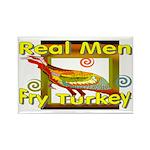 Real Men Rectangle Magnet (100 pack)